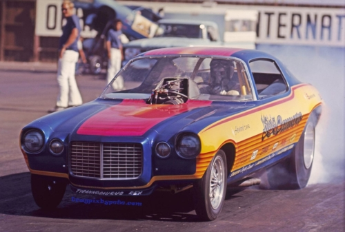 Funny Cars2 King Camaro 8x12