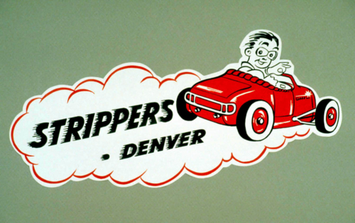 Strippers Decal
