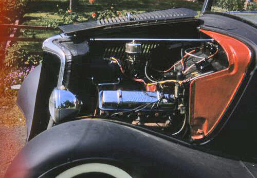 34 Ford w - olds engine B1 1of2  8 sm